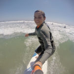 N'Awlins' Ross in a San Diego Surfing Academy Lesson Rocking the GoPro