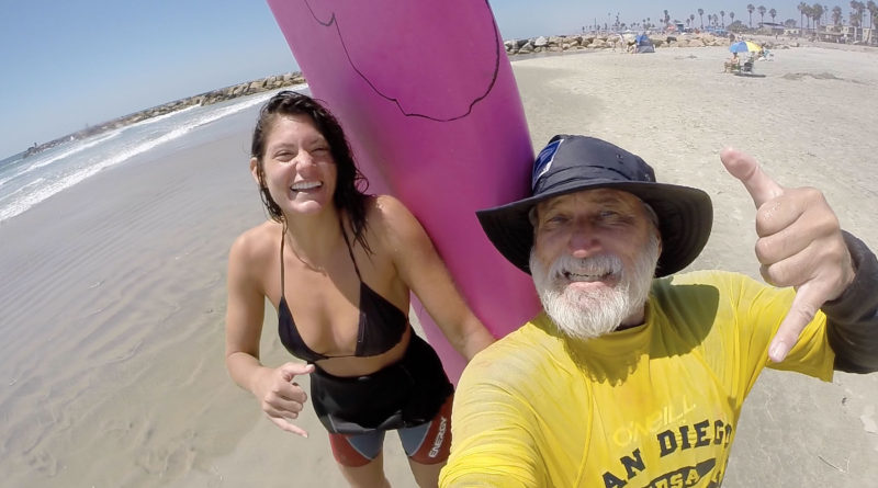 San Diego Surfing lessons, Oceanside surfing lessons