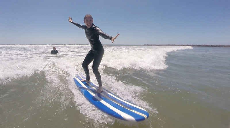 Oceanside Harbor surfing lessons – San Diego Surfing Academy