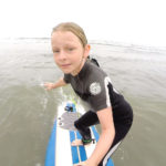 Day One Surfing for Cheyanne with Coach Pat Weber of the San Diego Surfing Academy LLC
